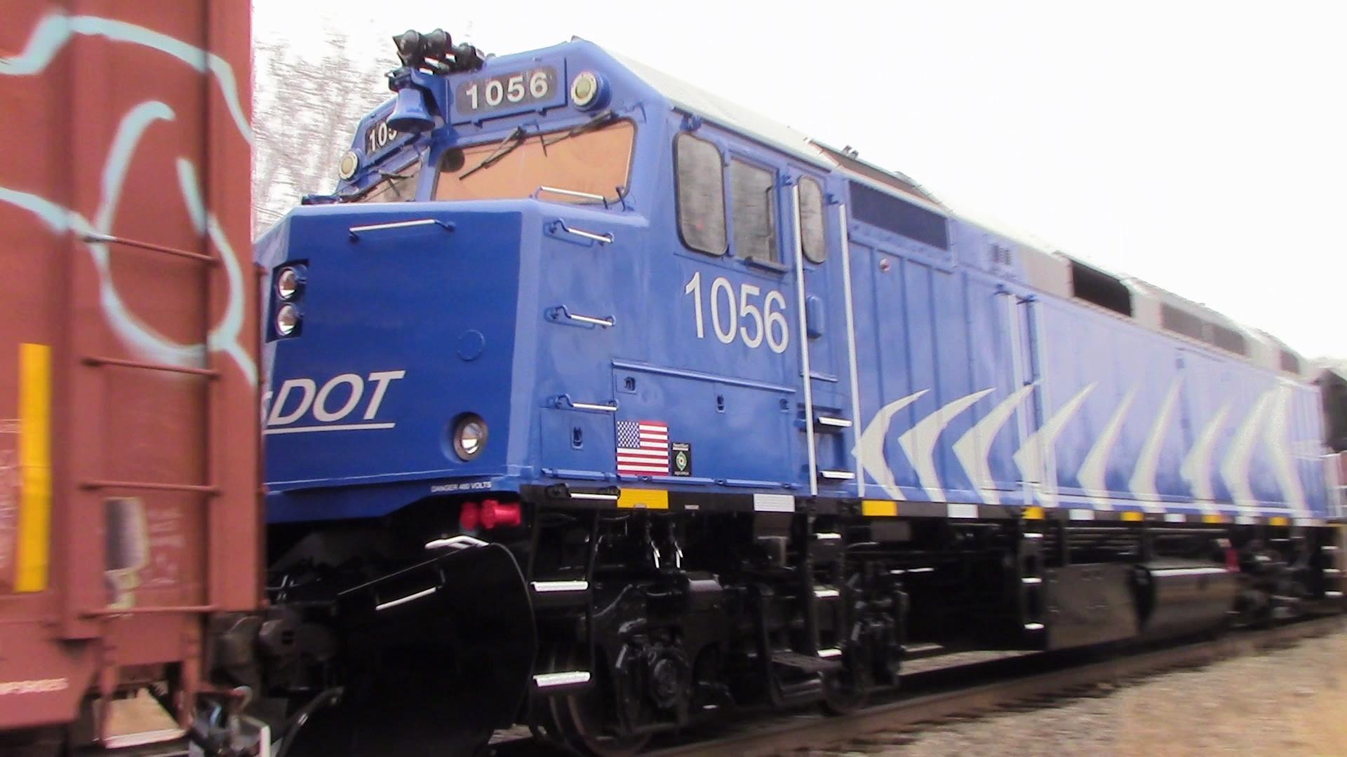 Ex MBTA F40PH-2C #1056