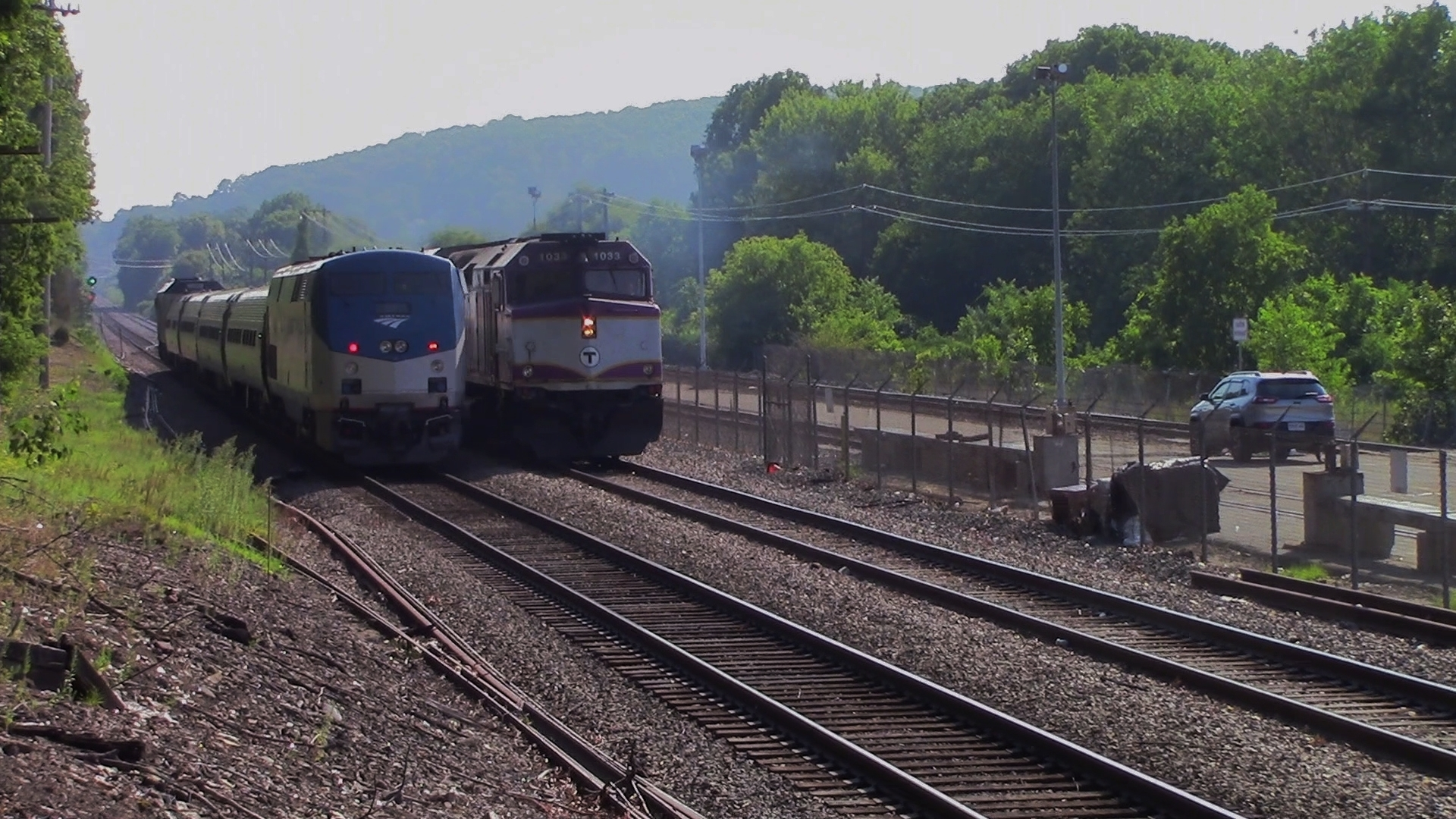 when will two trains meet